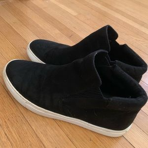 Black fashion sneakers